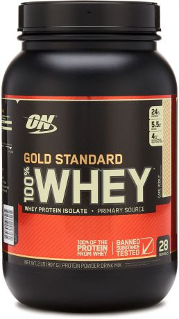 "Протеин Optimum Nutrition ""100% Whey Protein Gold Standard"", пончик, 900 г"
