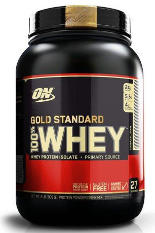 "Протеин Optimum Nutrition ""100% Whey Protein Gold Standard"", печенье, 900 г"