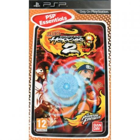 Naruto: Ultimate Ninja Heroes 2. The Phantom Fortress (Essentials) (PSP)