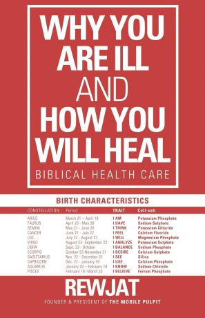 Rewjat Why You Are Ill and How You Will Heal. Biblical Health Care