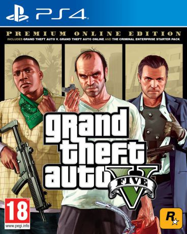 Grand Theft Auto V. Premium Online Edition (PS4)