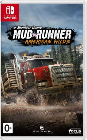 Spintires: MudRunner American Wilds (Nintendo Switch)