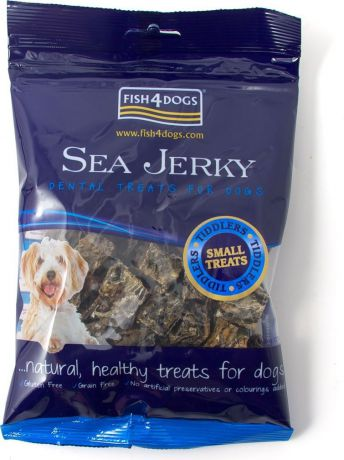 "Лакомство для собак Sea Jerky ""Tiddlers"", с рыбой, 100 г"