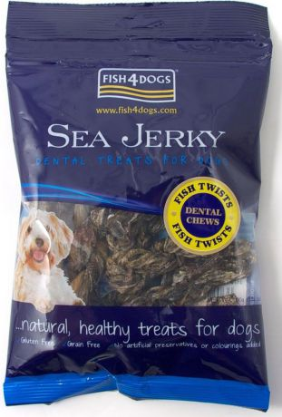 "Лакомство для собак Sea Jerky ""Fish Twists"", с рыбой, 100 г"