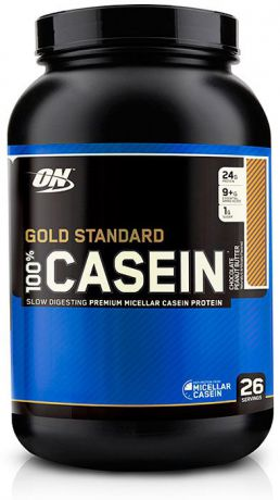 Протеин Optimum Nutrition 100% Casein Protein Chocolate Peanut Butter, шоколадно-арахисовое масло, 907 г