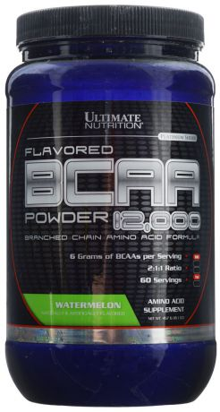 "Аминокислоты Ultimate Nutrition ""BCAA 12,000"", арбуз, 457 г"