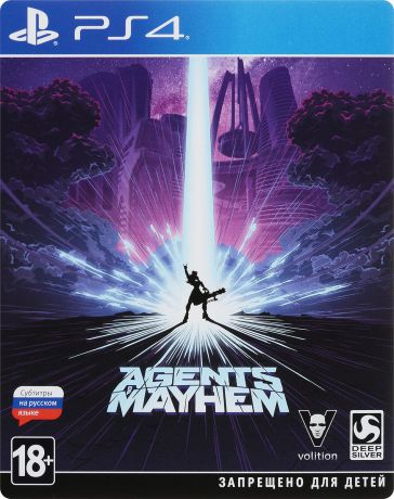 Agents of Mayhem. Steelbook Edition (PS4)