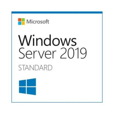 Операционная система MICROSOFT Windows Server 2019 Standard, 64 bit, Eng, BOX, DVD [p73-07701]