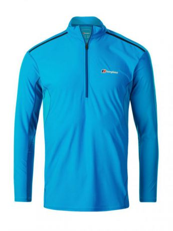Футболка Berghaus Berghaus LS Super Tech Zip Neck