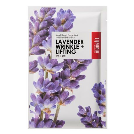 Manefit Beauty Planner Lavender Wrinkle And Lifting Mask