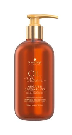 Schwarzkopf Professional Oil Ultime Argan and Barbary Fig Oil In Shampoo
