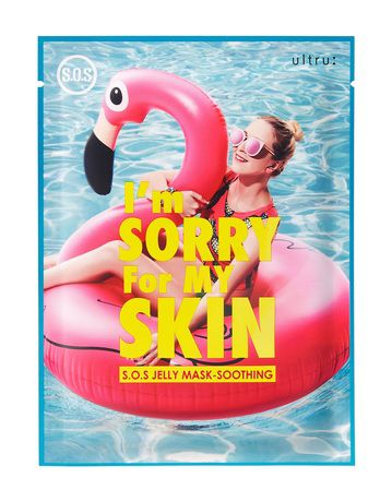 Ultru I`m sorry for my skin S.O.S. Jelly Mask - Soothing