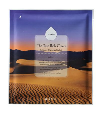 The True Rich Cream Relaxing Hydrogel Mask A.M.F.