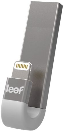 USB флешка Leef iBridge 3 128Gb (серебристый)