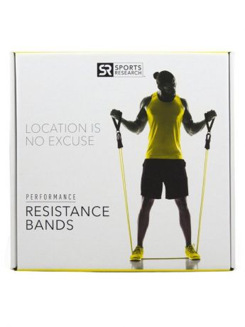 Эспандер Sweat Sweat Resistance Bands, желтый, черный