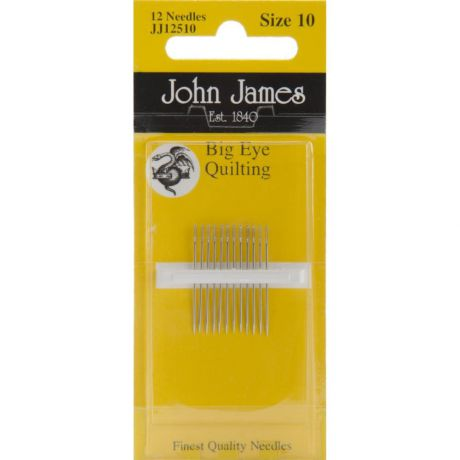 Иглы John James Big Eye Quilting Hand Needles