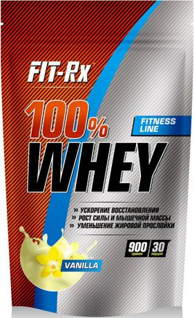 "Протеин FIT-RX ""WHEY"", ваниль, 900 г"