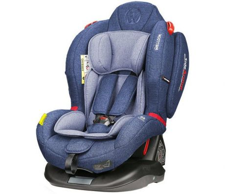 Автокресло Welldon Royal Baby Dual Fit (Blue)