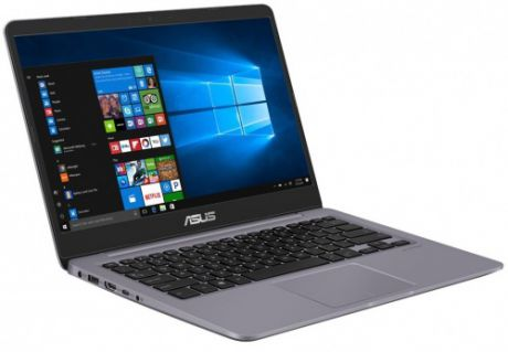 "Ноутбук Asus S410UA-BV1157 Core i5 8250U (1.6) / 4Gb / 500Gb / 14"" HD TN / UHD Graphics 620 / Linux Endless OS / Gray"