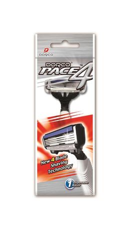 Dorco Pace 4 Blade Disposable Razor