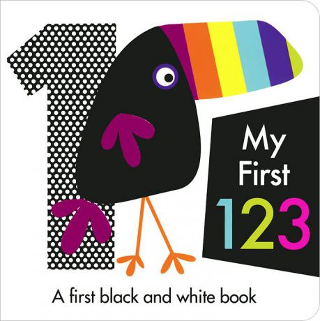My First 123: A First Black and White Book