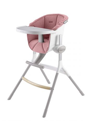 Beaba Подушка для сидения стульчика для кормления Textile Seat F/Height Chair, Pink