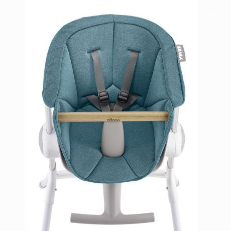 Beaba Подушка для сидения стульчика для кормления Textile Seat F/Height Chair, Blue