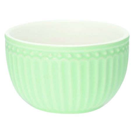 Пиала мини Greengate Alice pale green