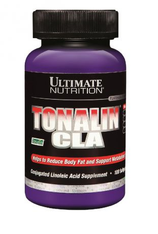 Жиросжигатель Ultimate Nutrition Tonalin CLA 100 гел.капс