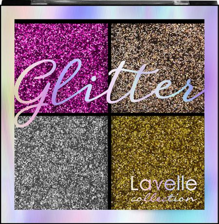 Тени для век LavelleCollection Glitter, тон №02