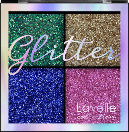 Тени для век LavelleCollection Glitter, тон №03