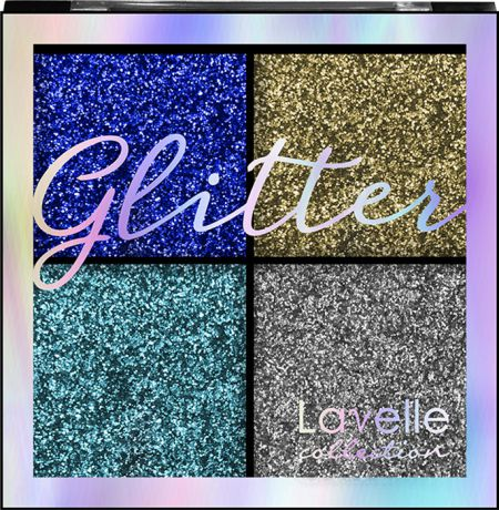 Тени для век LavelleCollection Glitter, тон №01