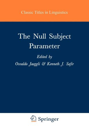 The Null Subject Parameter