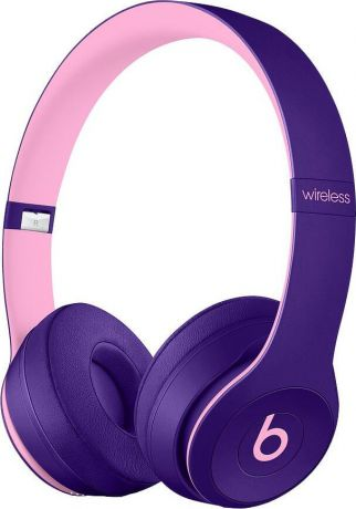 Беспроводные накладные Beats Solo3 Wireless On-Ear Headphones - Beats Pop Collection - Pop Violet