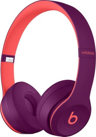 Беспроводные накладные Beats Solo3 Wireless On-Ear Headphones - Beats Pop Collection - Pop Magenta