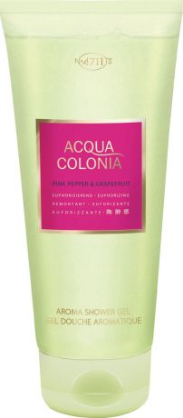 4711 Acqua Colonia Euphorizing Pink Pepper & Grapefruit Гель для душа, 200 мл