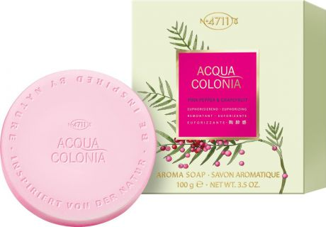 4711 Acqua Colonia Euphorizing Pink Pepper & Grapefruit Мыло, 100 г