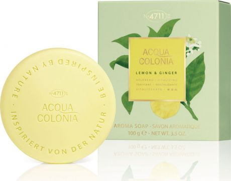 4711 Acqua Colonia Vitalizing Lemon & Ginger Мыло, 100 г
