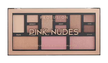 Profusion Pink Nudes Color Eye & Cheek Palette
