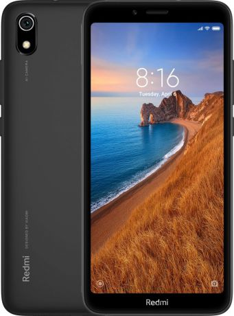 Смартфон Xiaomi Redmi 7A Matte Black (M1903C3EG) 8 Core (1.8GHz)/2GB/16GB/5.45