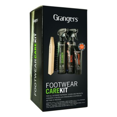 Набор для ухода за обувью Grangers Grangers Footwear Repel, Footwear Cleaner, Leather Conditioner