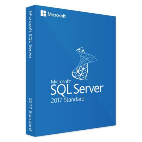 Операционная система MICROSOFT SQL Server 2017 Std 10 Clt, 64 bit, Eng, BOX, DVD [228-11033]