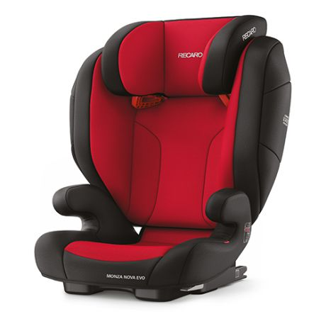 Автокресло группа 2/3 (15-36 кг) Recaro Monza Nova Evo Seatfix, Racing Red