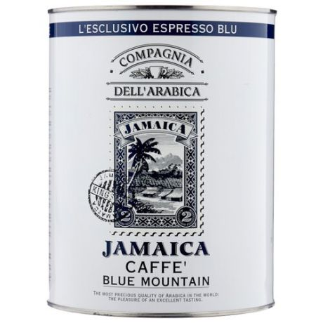 Кофе в зернах Compagnia Dell` Arabica Jamaica Blue Mountain, арабика, 1.5 кг