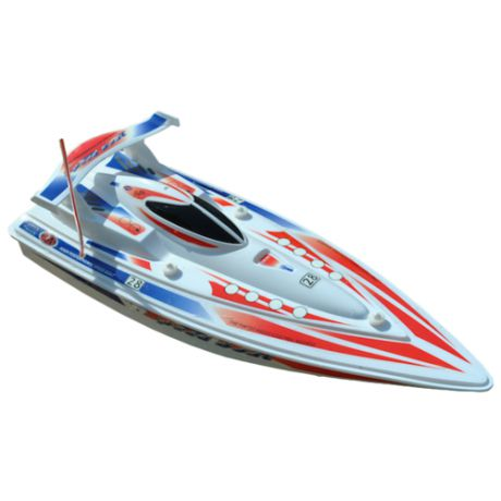 Катер Double Horse Speed Boat (7001) 1:16 41 см белый