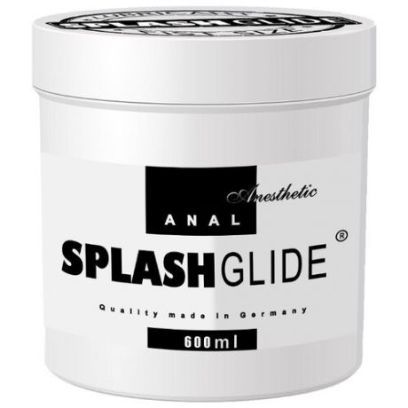 Гель-смазка Splash Glide ANAL anesthetic 600 мл банка