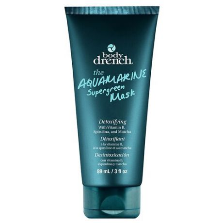 Body Drench Аквамариновая маска с витамином В The Aquamarine Supergreen Mask, 89 мл