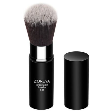 Кисть Zoreya Cosmetics Retractable Powder 881 черный