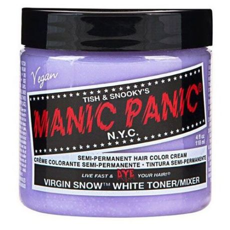 Крем Manic Panic High Voltage Virgin Snow White Toner белый тонер, 118 мл