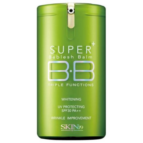 Skin79 Super Plus Beblesh Balm BB крем Green SPF30 40 гр